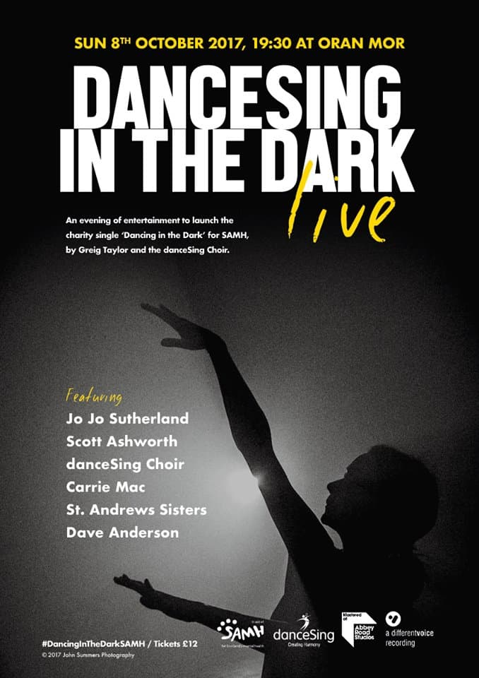Last few tickets for 'DANCING IN THE DARK' danceSing Charity Single launch