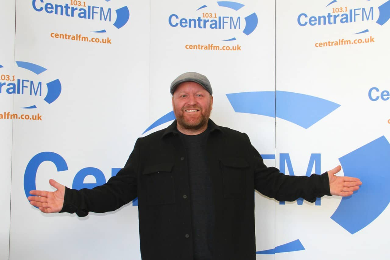 Greig Taylor at Central fm