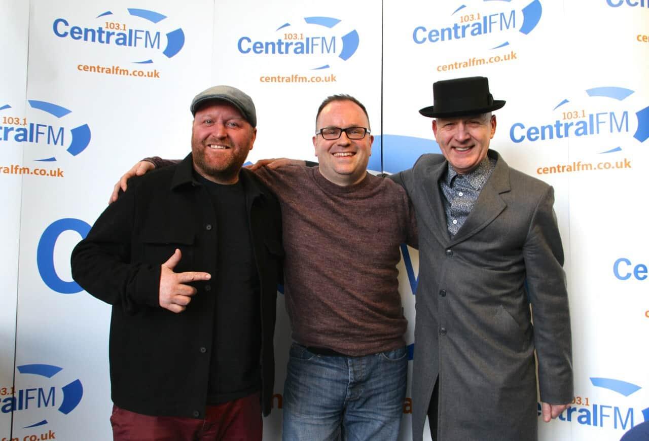 Greig Taylor on Central FM