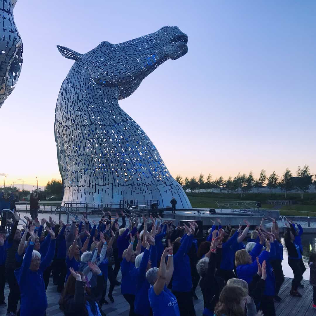 Kelpies Summer Solstice Performance 2018