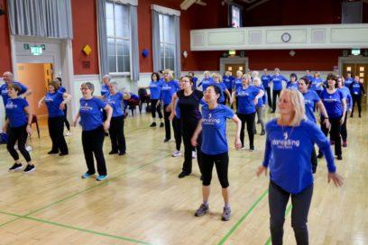All together now… The benefits of doing activity in a group