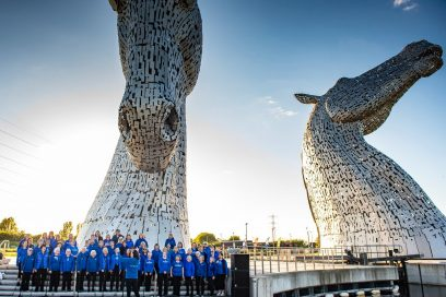 Summer Solstice at The Kelpies 2019