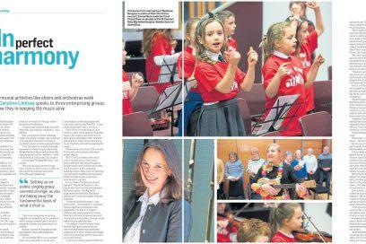 danceSing in The Courier   Dundee